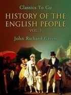 History of the English People, Vol. 1 ekitaplar by John Richard Green