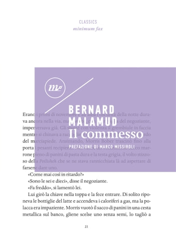Il commesso ebook by Bernard Malamud