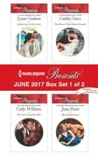 Harlequin Presents June 2017 - Box Set 1 of 2 - An Anthology ebook by Lynne Graham, Cathy Williams, Caitlin Crews,...
