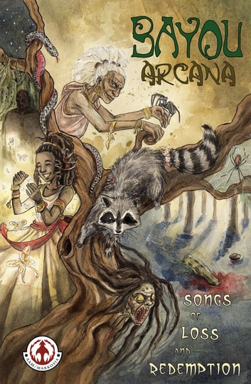 Bayou Arcana ebook by Various Male Writers,Various Female Artists