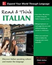 Read and Think Italian with Audio CD ebook by The Editors of Think Italian! Magazine
