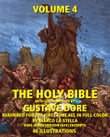 The Holy Bible Illustrated by Gustave Dore' in Full Color: Volume 4 of 6
