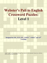 Webster's Pali to English Crossword Puzzles: Level 1 ebook by ICON Group International