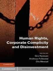 Human Rights, Corporate Complicity and Disinvestment ebook by Andreas Follesdal,Ola Mestad,Professor Gro Nystuen