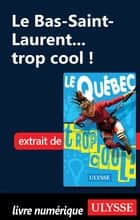 Le Bas-Saint-Laurent... trop cool ! ebook by Lucette Bernier