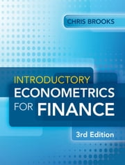 Introductory Econometrics for Finance ebook by Chris Brooks