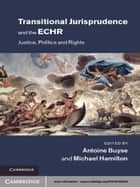 Transitional Jurisprudence and the ECHR - Justice, Politics and Rights ebook by Antoine Buyse, Michael Hamilton