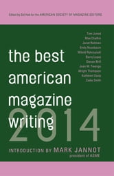 The Best American Magazine Writing 2014 ebook by The American Society of Magazine Editors