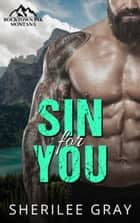 Sin For You (Rocktown Ink #2)) ebook by Sherilee Gray
