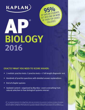Kaplan AP Biology 2016 ebook by Linda Brooke Stabler,Mark Metz,Allison Wilkes, M.D.