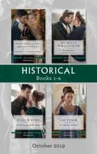 Historical Box Set 1-4/The Captain's Christmas Proposal/Unwrapping His Festive Temptation/The Highlander and the Governess/The Awakening of Mi ebook by Marguerite Kaye, Julia Justiss, Michelle Willingham,...