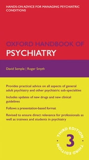 Oxford Handbook of Psychiatry ebook by David Semple,Roger Smyth