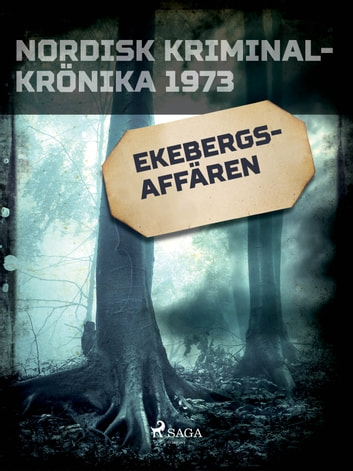 Ekebergs-affären ebook by - Diverse