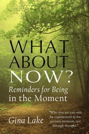 What About Now?: Reminders for Being in the Moment ebook by Gina Lake