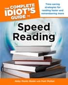 The Complete Idiot's Guide to Speed Reading ebook by Pam Mullan, Abby Marks Beale