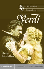 The Cambridge Companion to Verdi ebook by Scott L. Balthazar