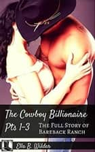 The Cowboy Billionaire: The Full Story of Bareback Ranch ebook by Ella B. Wilder