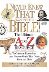 I Never Knew That Was in the Bible ebook by Martin H. Manser