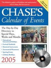 Chase's Calendar of Events [With CDROM] ebook by McGraw-Hill