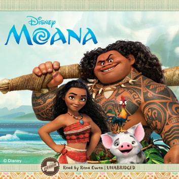 Moana audiobook by Disney Press