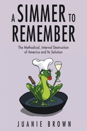 A Simmer to Remember - The Methodical, Internal Destruction of America and Its Solution ebook by Juanie Brown