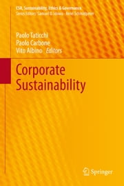 Corporate Sustainability ebook by Paolo Taticchi,Paolo Carbone,Vito Albino