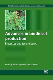Advances in Biodiesel Production - Processes and Technologies ebook by R Luque,J A Melero