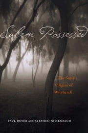 Salem Possessed ebook by Paul Boyer