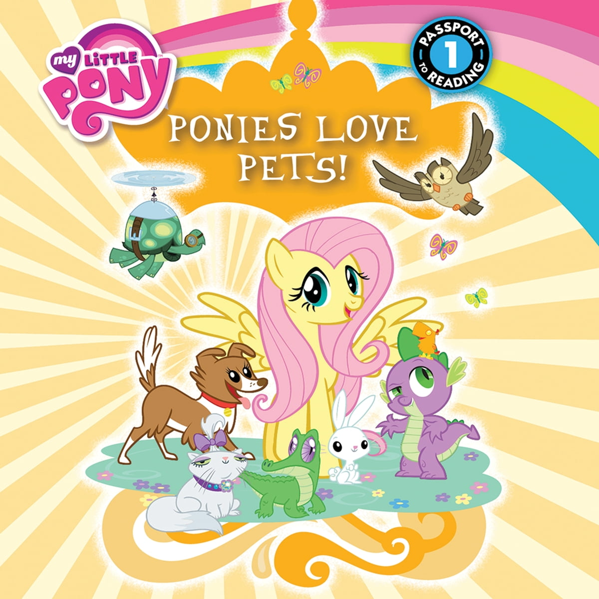 - My Little Pony: Ponies Love Pets! Audiobook By Emily C. Hughes
