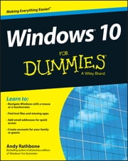 Windows 10 For Dummies ebook by Kobo.Web.Store.Products.Fields.ContributorFieldViewModel