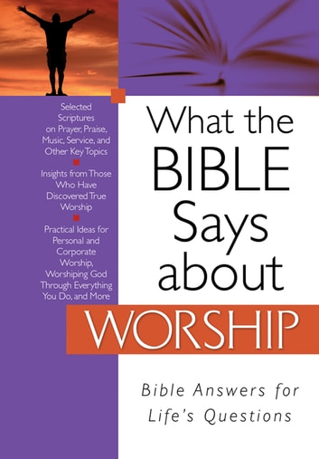 What the Bible Says about Worship ebook by Christopher D. Hudson