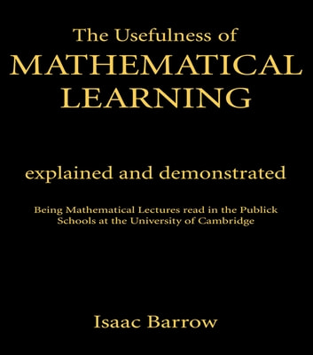 Usefullness of Mathematical Cb - Usefulness Me Learning# ebook by Taylor and Francis