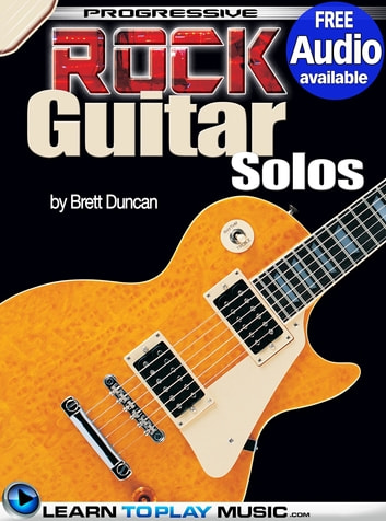 Rock Guitar Lessons - Licks and Solos - Teach Yourself How to Play Guitar (Free Audio Available) ebook by LearnToPlayMusic.com,Brett Duncan