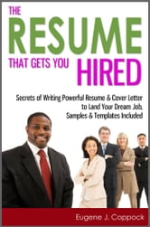 cover letter sample the resume that gets you hired secrets of writing 21155
