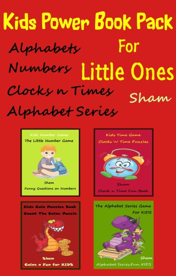 Kids Power Book Pack For Little Ones ebook by Sham