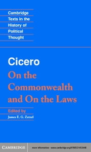 Cicero: On the Commonwealth and On the Laws ebook by Cicero, Marcus Tullius