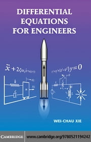 Differential Equations for Engineers ebook by Xie, Wei-Chau
