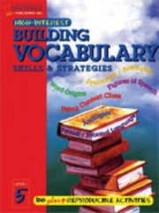 Building Vocabulary Skills and Strategies Level 5 ebook by Suter, Joanne
