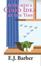 It Seemed A Good Idea At The Time ebook by E J Barber