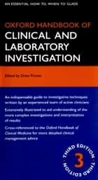 Oxford Handbook of Clinical and Laboratory Investigation ebook by Drew Provan