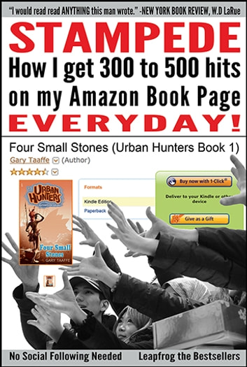 Stampede - How I get 300 to 500 hits on my Amazon Book Page EVERYDAY! ebook by Gary Taaffe