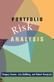 Portfolio Risk Analysis ebook by Connor, Gregory