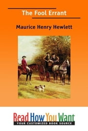 The Fool Errant ebook by Hewlett Maurice Henry