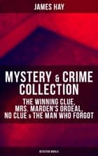 MYSTERY & CRIME COLLECTION: The Winning Clue, Mrs. Marden's Ordeal, No Clue & The Man Who Forgot (Detective Novels) ebook by James Hay
