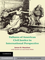 Failures of American Civil Justice in International Perspective ebook by James R. Maxeiner,Gyooho Lee,Armin Weber,Philip K. Howard