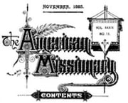 The American Missionary — Volume 39, No. 11, November, 1885 (Illustrated) ebook by Various