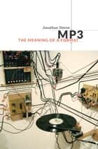 MP3 ebook by Jonathan Sterne