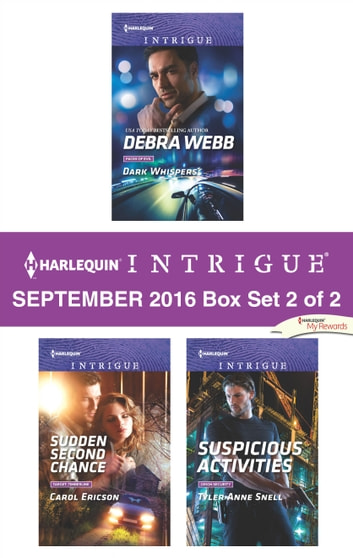 Harlequin Intrigue September 2016 - Box Set 2 of 2 - An Anthology ebook by Debra Webb,Carol Ericson,Tyler Anne Snell