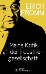 Meine Kritik an der Industriegesellschaft - What I Do not Like in Contemporary Society ebook by Erich Fromm, Rainer Funk
