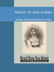 Memoir of Jane Austen ebook by James Edward Austen-Leigh